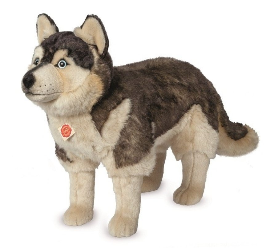 Knuffel Hond Husky Staand Groot