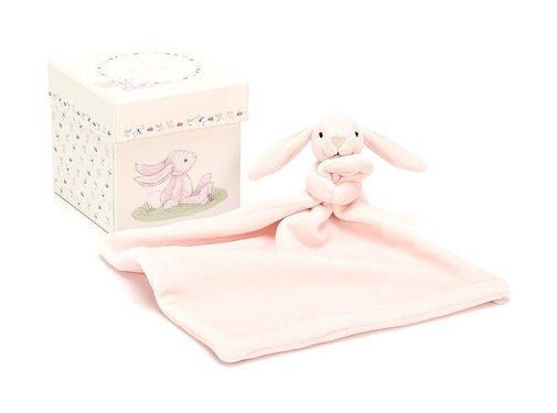 Jellycat Knuffeldoek Konijn My First Pink Bunny Soother