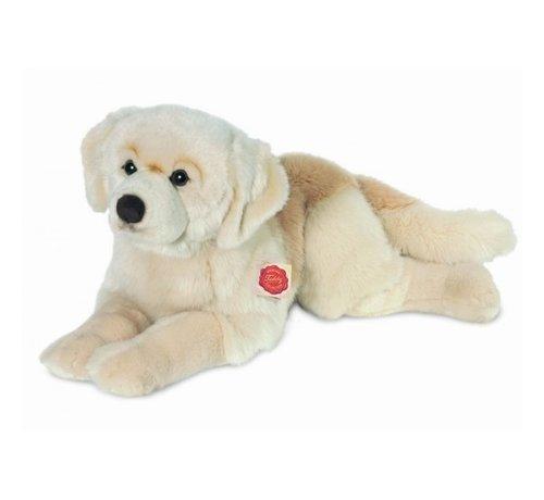 Hermann Teddy Knuffel Hond Golden Retriever Liggend 60 cm
