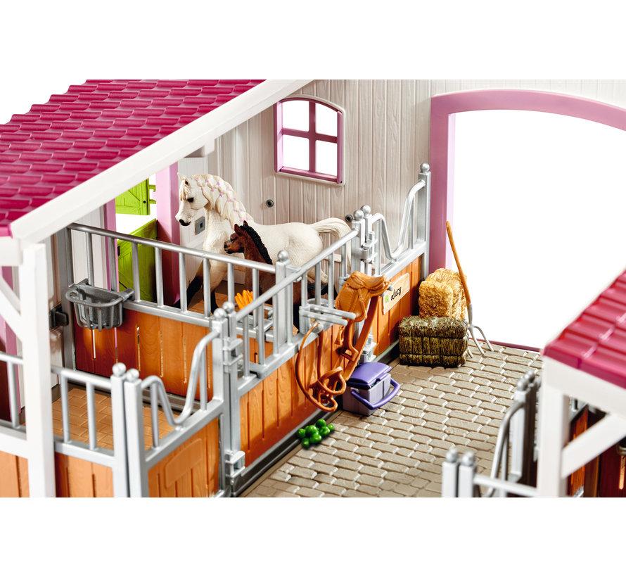 Speelset Manege met Ruiter en Paarden 42344