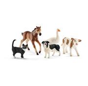Schleich Assorted Farm World animals 42386