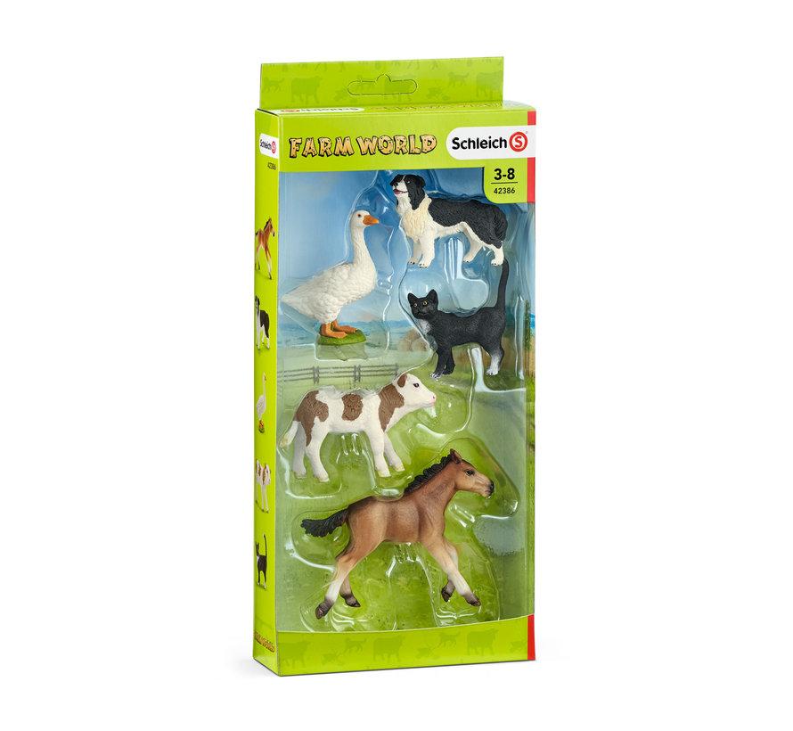Speelset Farm Live Dieren Set 5-delig