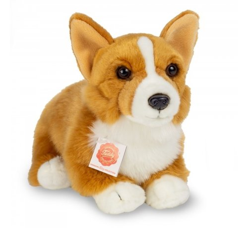 Hermann Teddy Knuffel Hond Corgi