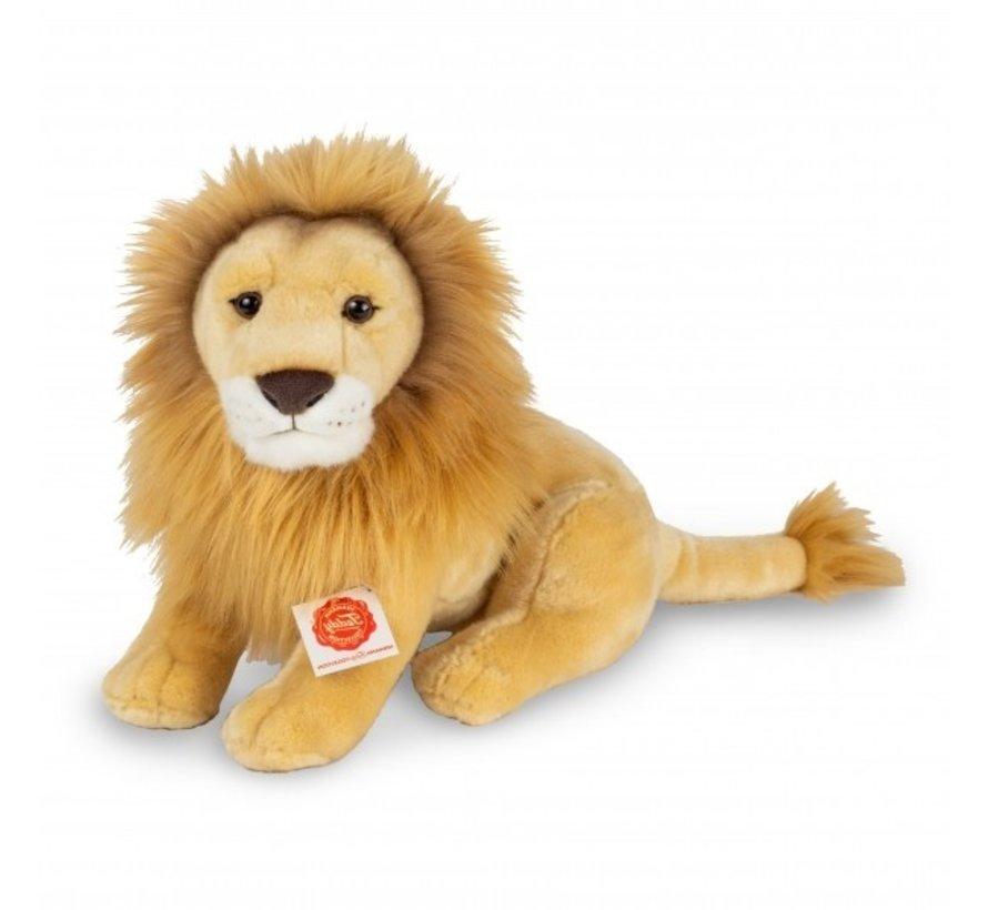 Knuffel Leeuw Zittend 35 cm