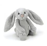 Jellycat Knuffel Konijn Bashful Silver Bunny Medium