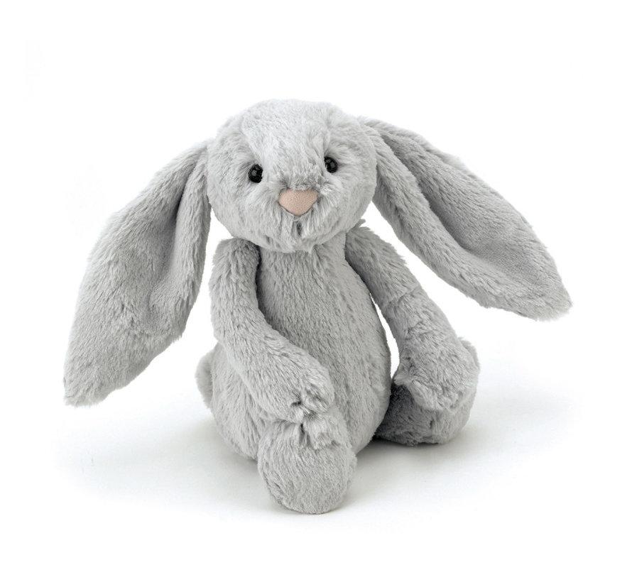 Knuffel Konijn Bashful Silver Bunny Medium
