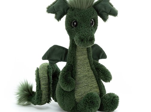 Jellycat Knuffel Draak Sparks Dragon