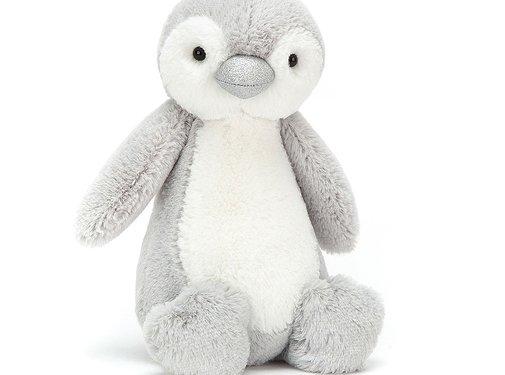Jellycat Knuffel PinguÏn Bashful Sparkle Penguin