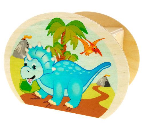 Hess Spaarpot Dino Hout