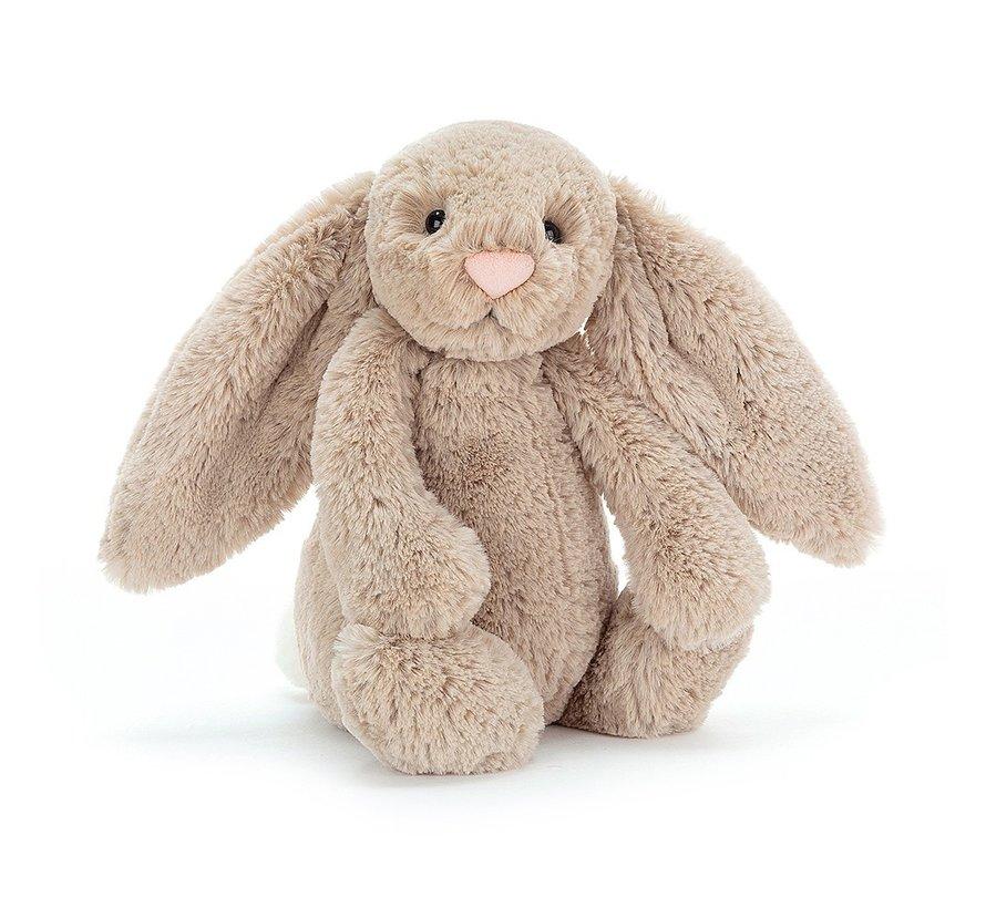 Knuffel Konijn Bashful Beige Bunny Medium
