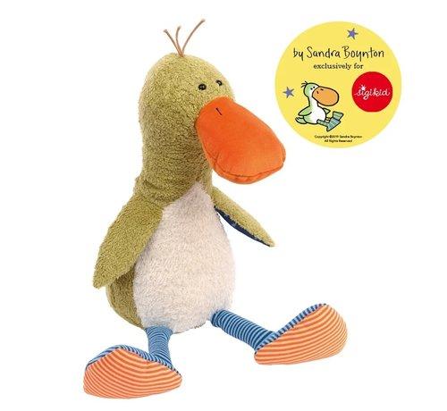 sigikid Knuffel Eend Silly Duck by Sandra Boynton