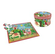 Scratch Puzzel Prinsessenkoets