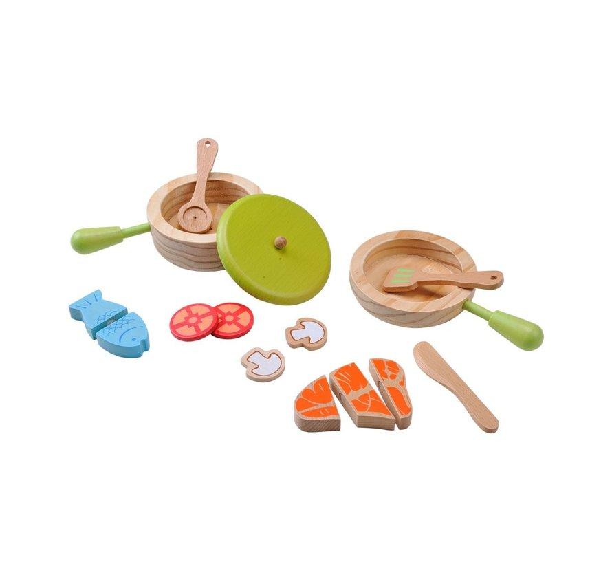 Pot and Pan Cooking Set