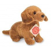 Hermann Teddy Knuffel Hond Teckel Bruin
