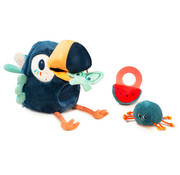 Lilliputiens Knuffel Activiteitenvogel Pablo