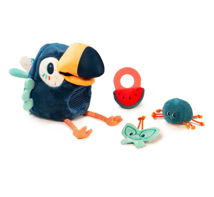 Knuffel Activiteitenvogel Pablo