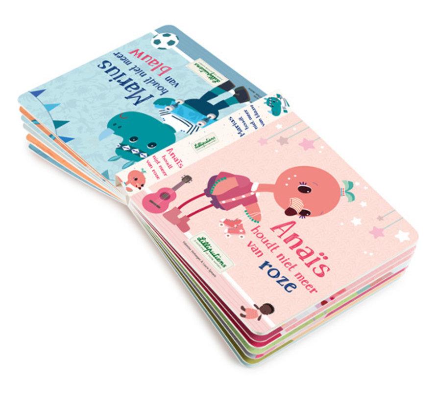 Omkeerboek Anaïs houdt niet meer van roze NL