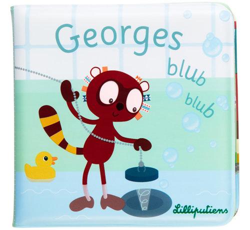 Lilliputiens GEORGES Blub blub Bath book