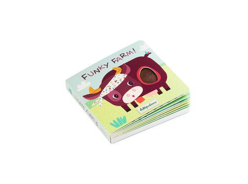 Lilliputiens Voelboek Boerderij met Geluiden