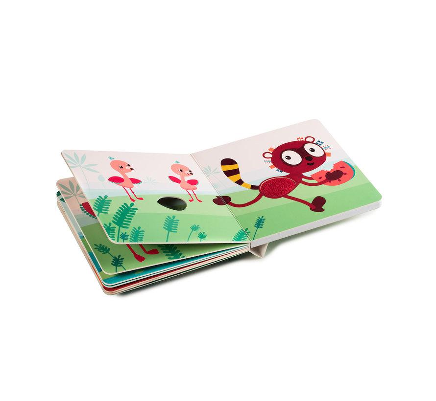 Voelboek Jungle met Geluiden