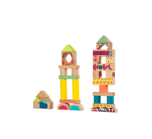 Lilliputiens Jungle Building Blocks