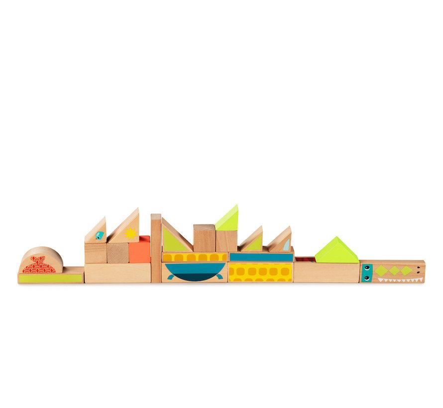 Jungle Building Blocks
