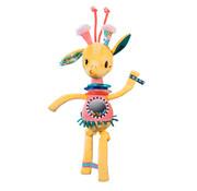 Lilliputiens Knuffel Rammelaar Giraf Zia Dansend
