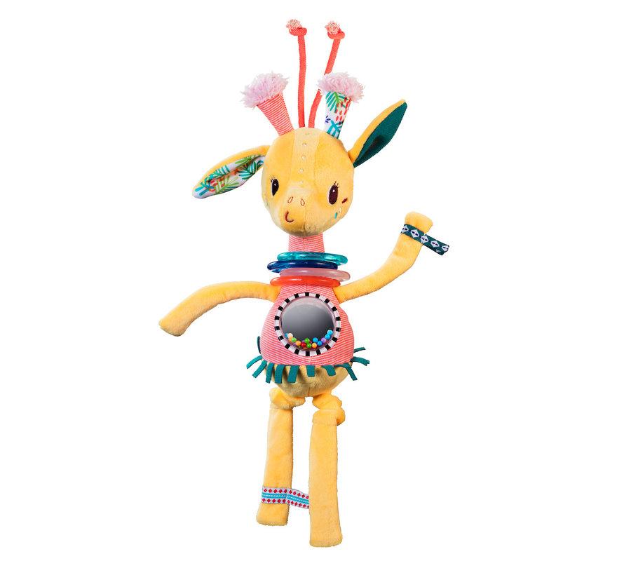 Knuffel Rammelaar Giraf Zia Dansend