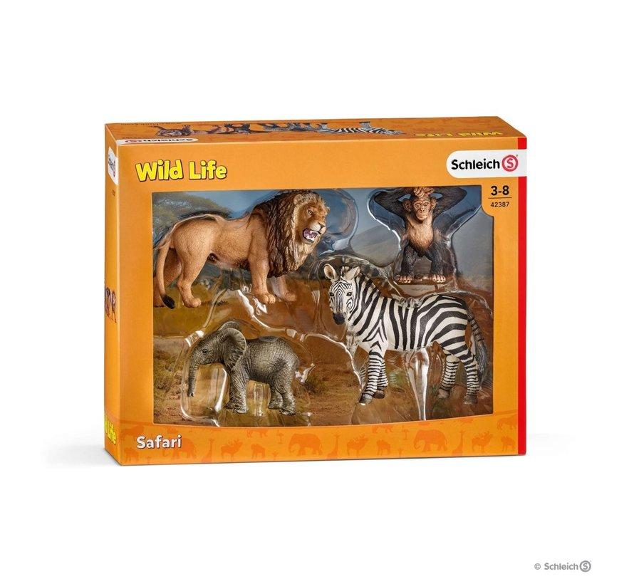 Speelset Wild Life Starter Set 4-delig