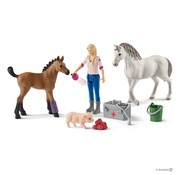 Schleich Vet visiting mare and foal 42486