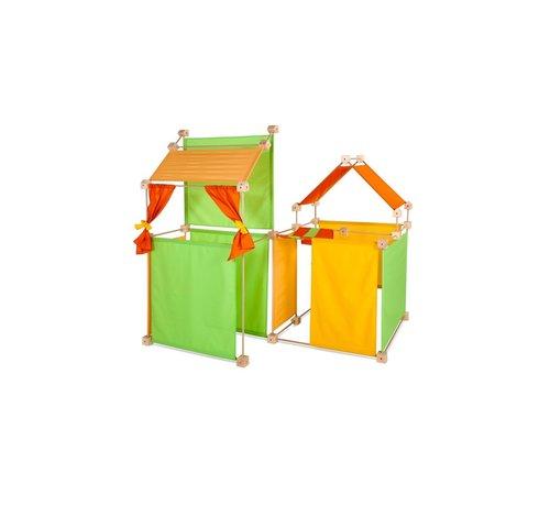Trigonos Speelhuis Maxi PCG Oranje 150 delig