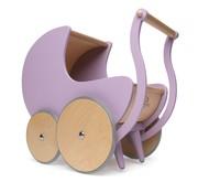 Kinderfeets Poppenwagen Lila Hout