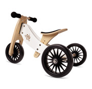 Kinderfeets Loopfiets Trike Tiny Tot PLUS Wit