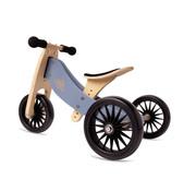 Kinderfeets Loopfiets Trike Tiny Tot PLUS Grijs Blauw