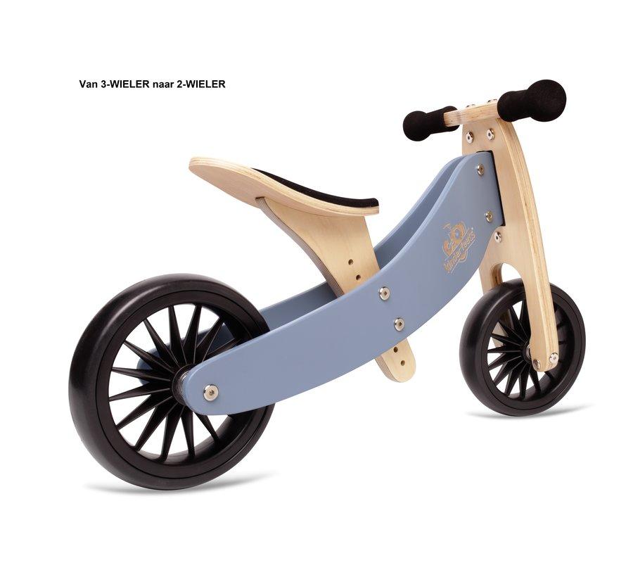 Loopfiets Trike Tiny Tot PLUS Grijs Blauw