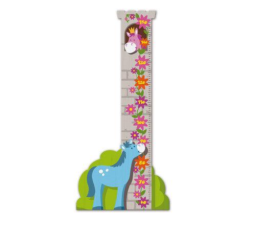Weizenkorn Groeimeter Toren met Paard Hout