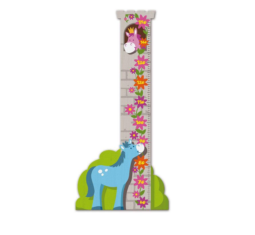 Groeimeter Toren met Paard Hout