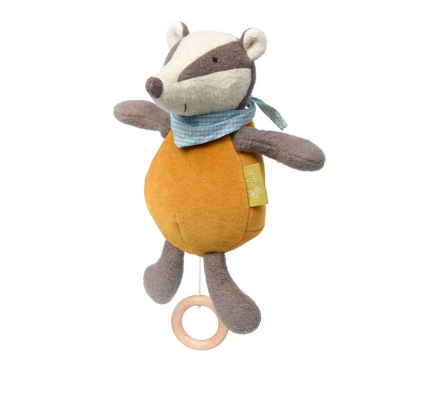 Organic Badger Muscial Toy
