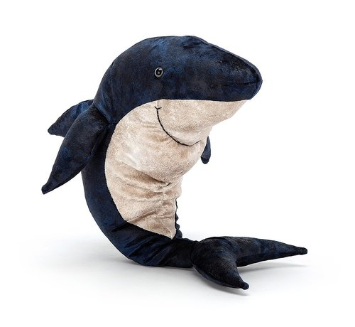 Jellycat Cuddly Animal Victor Great White Shark