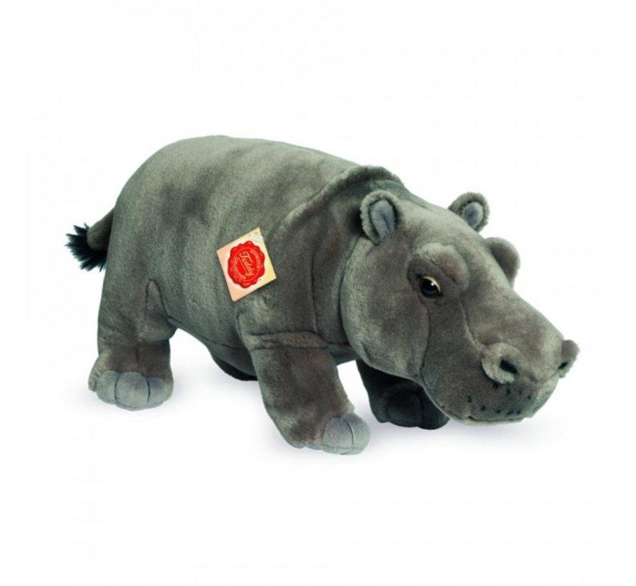 Knuffel Nijlpaard Staand 32 cm