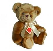 Hermann Teddy Stuffed Animal Teddy Bear Sitting with Sound 25 cm