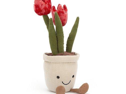Jellycat Knuffel Plant Tulp Amuseable Tulip