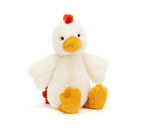 Jellycat Knuffel Kip Bashful Chicken Medium
