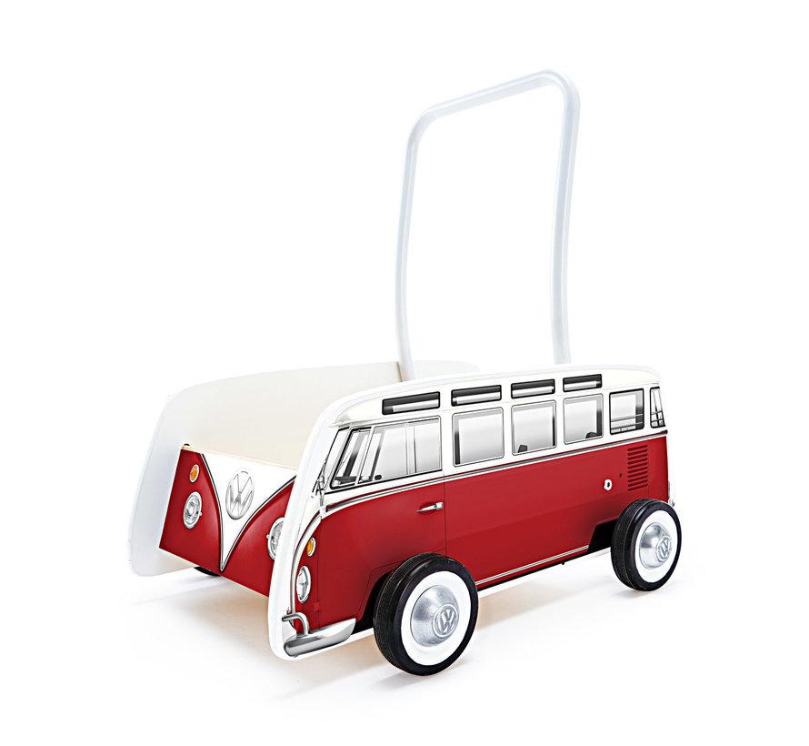 Loopwagen Classic VW T1 Rood