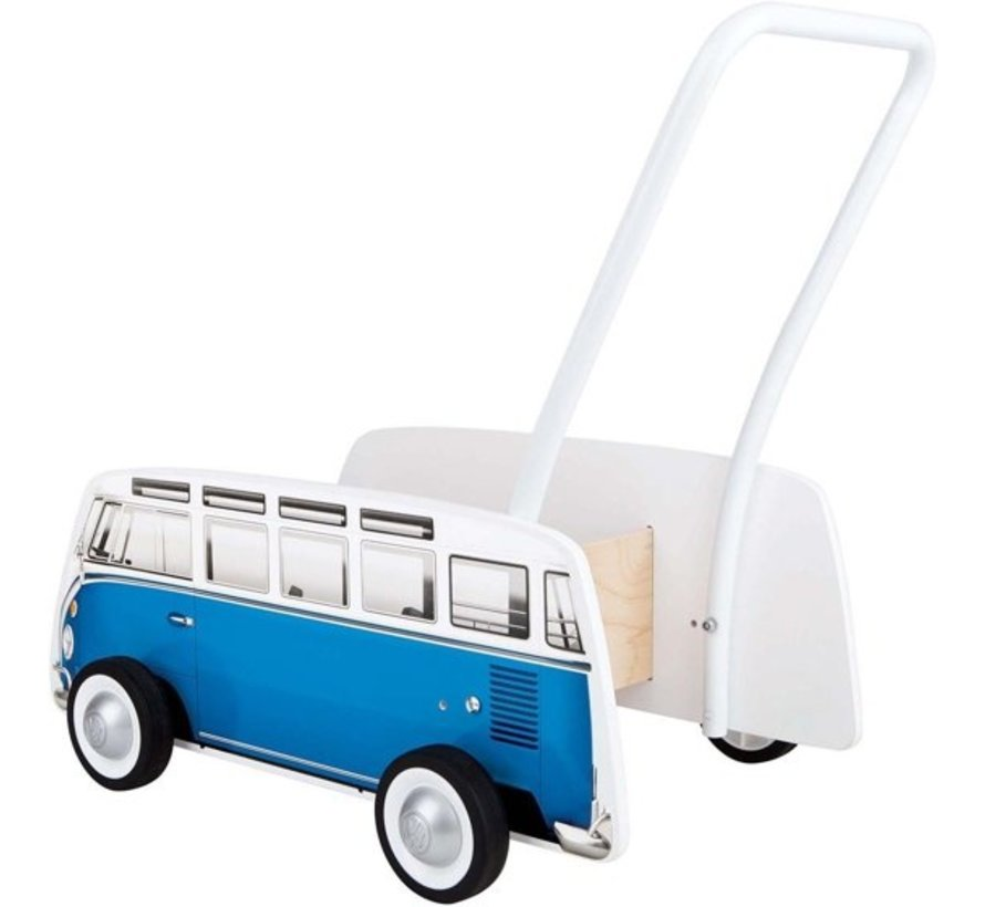 Loopwagen Classic VW T1 Blauw