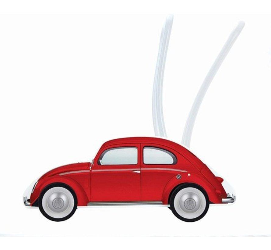 Loopwagen VW Kever Rood