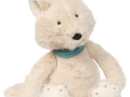 sigikid Soft white plush fox