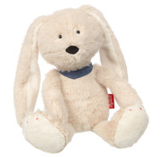 sigikid Soft white plush bunny