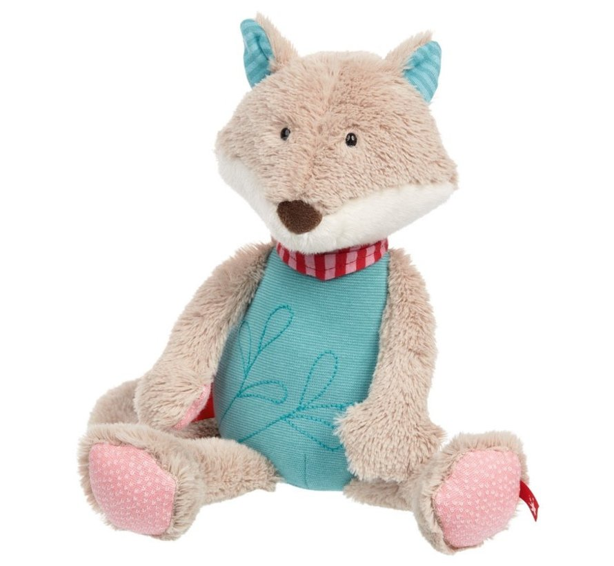 Knuffel Vos Patchwork Sweety
