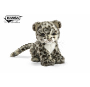 Hansa Cuddly Animal Snow Leopard